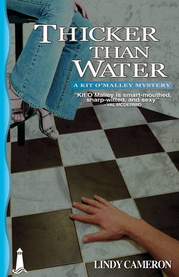 Thicker Than Water: A Kit O'Malley Mystery (Paperback)
