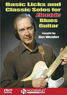 Basic Licks and Classic Solos for Electric Blues Guitar (DVD)