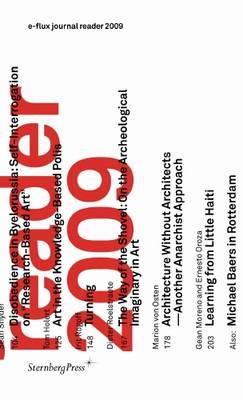 E-flux Journal Reader 2009 (Paperback)