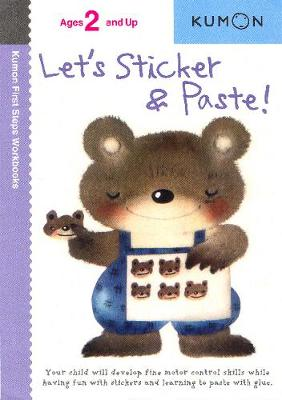 Let's Sticker and Paste! (Paperback)
