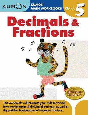 Grade 5 Decimals and Fractions (Paperback)