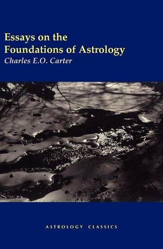 Essays on the Foundations of Astrology (Paperback)