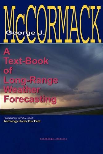 Text-Book of Long Range Weather Forecasting (Paperback)