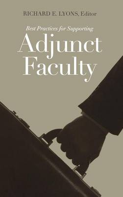 Best Practices for Supporting Adjunct Faculty - JB-Anker (Hardback)