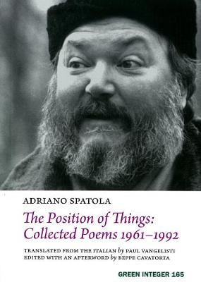 The Position Of Things: Collected Poems 1961-1992 (Paperback)