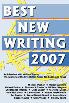 Best New Writing 2007 (Paperback)