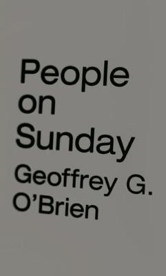 People on Sunday (Hardback)