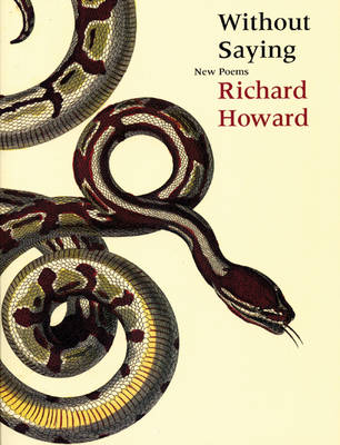 Without Saying: New Poems (Paperback)