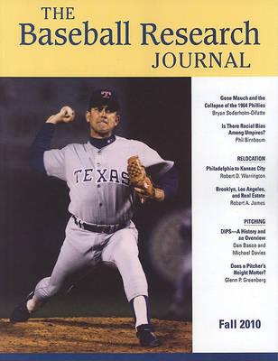 Baseball Research Journal (BRJ), Volume 39 #2 (Paperback)