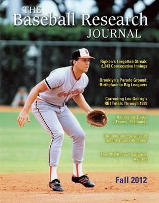 Baseball Research Journal (BRJ), Volume 41 #2 (Paperback)