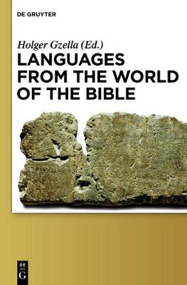 Languages from the World of the Bible (Hardback)
