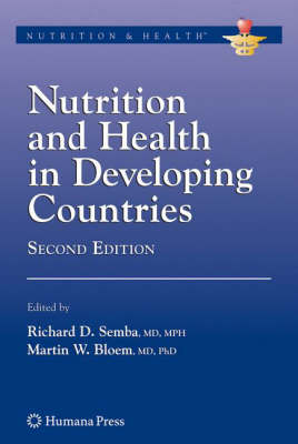 Nutrition and Health in Developing Countries - Nutrition and Health (Hardback)