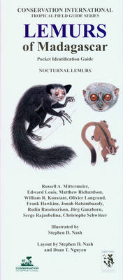 Lemurs of Madagascar: Nocturnal Lemurs: Pocket Identification Guide - Conservation International Tropical Pocket Guide Series
