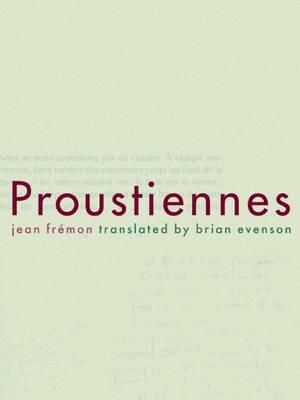 Proustiennes (Paperback)