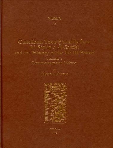 Cuneiform Texts Primarily from Iri-Saagrig/Aal-Esarraakai and the History of the Ur III Period - Nisaba (Hardback)