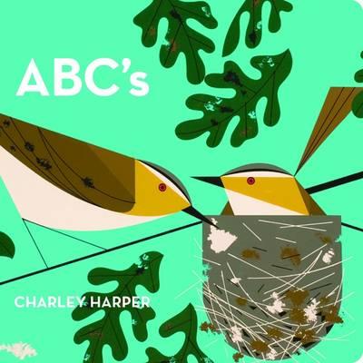 Charley Harper ABC's Skinny Version (Board book)