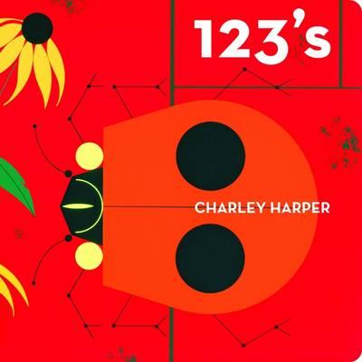Charley Harper 123's Skinny Version (Board book)