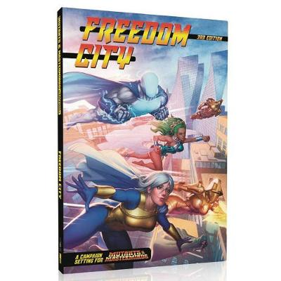 Mutants and Masterminds RPG Freedom City Campaign City (Hardback)
