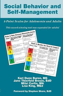 Social Behavior and Self-Management: 5-Point Scales for Adolescents and Adults (Paperback)