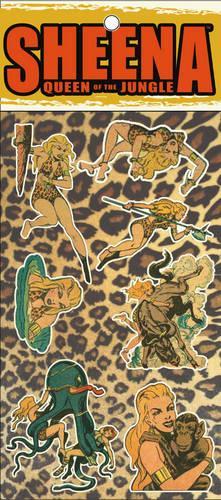 Retro Sheena Sticker Set: Sheena Queen of the Jungle