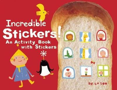 Incredible Stickers!: An Activity Book with Stickers - King of Play (Paperback)