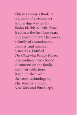 The Chadwick Family Papers (Hardback)