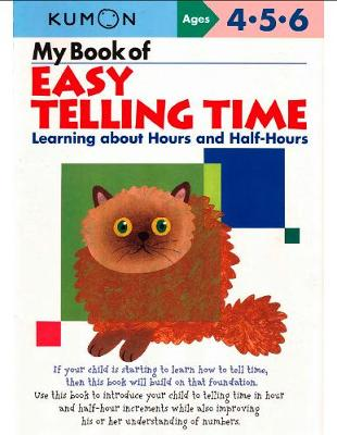 My Book Of Easy Telling Time By Kumon Waterstones