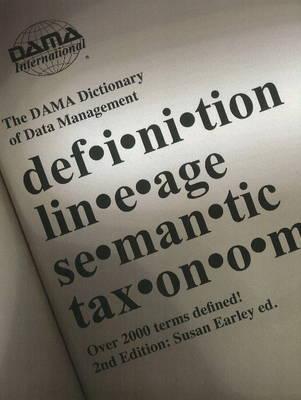 DAMA Dictionary of Data Management (CD-ROM)