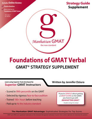 Foundations of GMAT Verbal (Paperback)