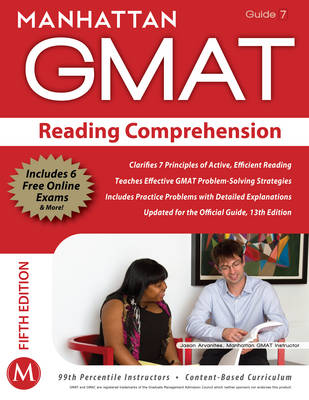 Reading Comprehension GMAT Strategy Guide - Manhattan GMAT Strategy Guides 7 (Paperback)