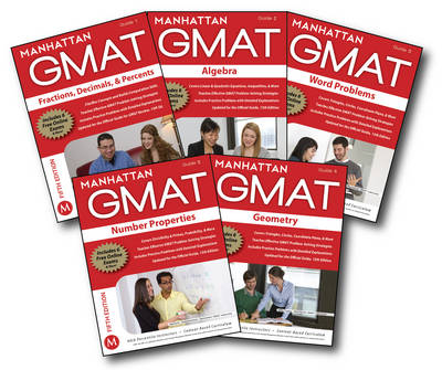 Manhattan GMAT Quantitative Strategy Guide Set - Manhattan GMAT Strategy Guides (Paperback)