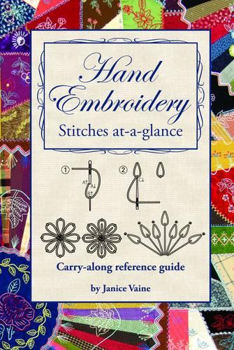 Hand Embroidery: Stitches at-a-Glance (Paperback)