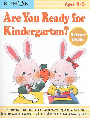 Are You Ready for Kindergarten? Scissor Skills (Paperback)