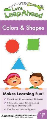 Let's Leap Ahead Colors and Shapes (Spiral bound)