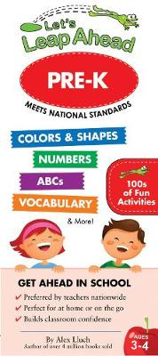 Let's Leap Ahead Pre-K (Spiral bound)