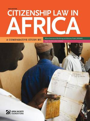 Citizenship Law in Africa. a Comparative Study (Paperback)