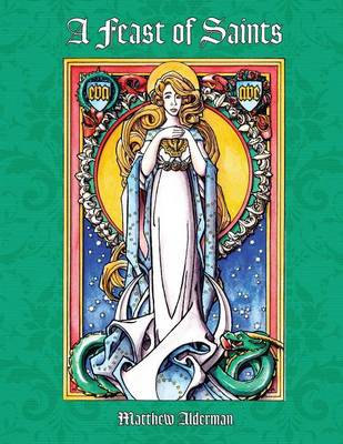 A Feast of Saints Coloring Book (Paperback)