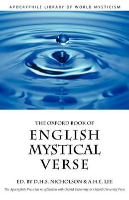 The Oxford Book of English Mystical Verse (Paperback)