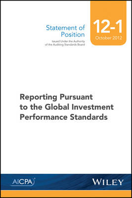 SOP 12-1 Reporting Pursuant to the Global Investment Performance Standards (Paperback)