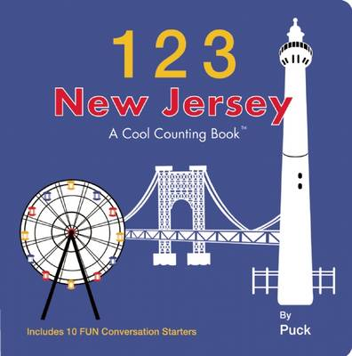 123 New Jersey: A Cool Counting Book (Board book)