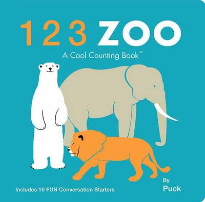 123 Zoo - Cool Counting Books (Board book)