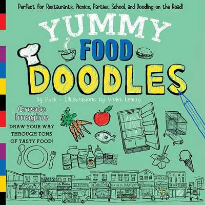 Yummy Food Doodles (Paperback)