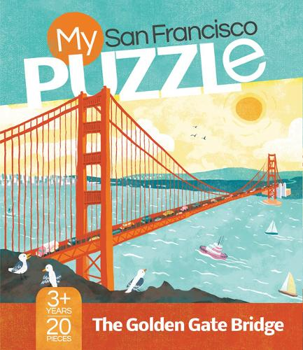 My San Francisco Puzzle: The Golden Gate Bridge