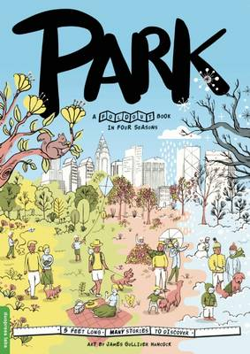 Park: A Fold-Out Book in Four Seasons (Hardback)