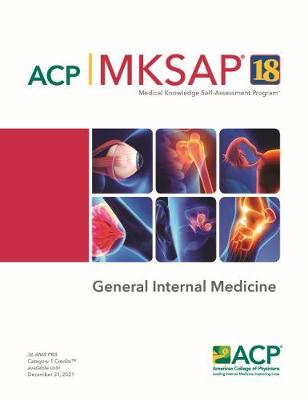 MKSAP (R) 18 General Internal Medicine (Paperback)