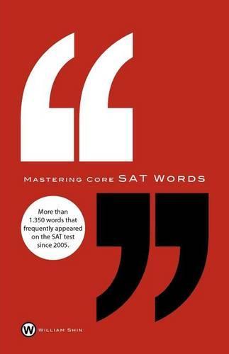 Mastering Core SAT Words (Paperback)