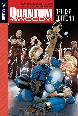 Quantum and Woody Deluxe Edition Book 1 (Hardback)