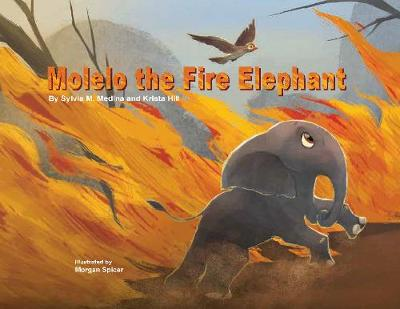Molelo the Fire Elephant: Moleo the baby elephant gets caught up in an African Bush Fire and gets saved by Elephants Without Borders (Hardback)