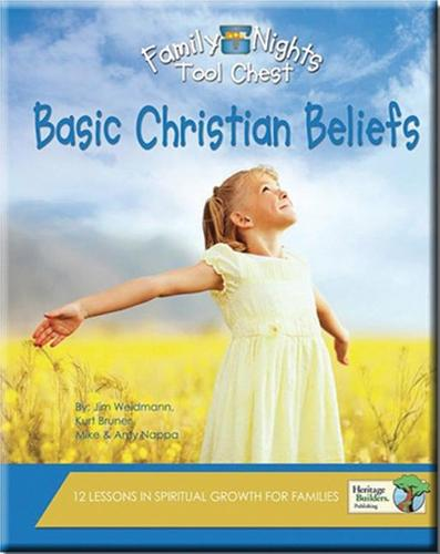 Family Nights Tool Chest: Basic Christian Beliefs (Paperback)