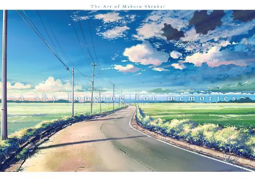 A Sky Longing For Memories: The Art of Makoto Shinkai (Paperback)